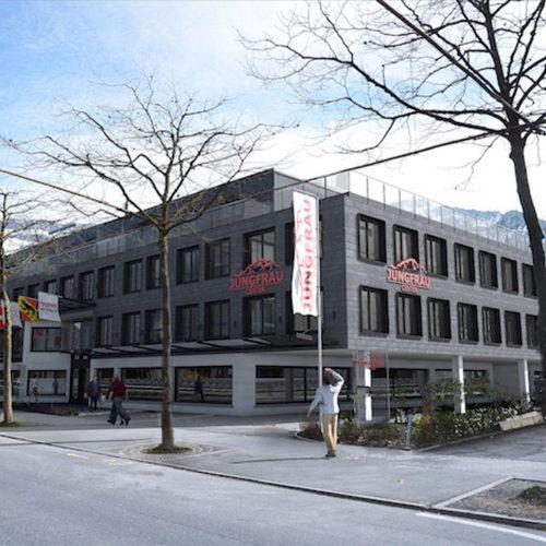 "Interlaken Ost Jungfrau Center ""Eröffnung April 2019"""