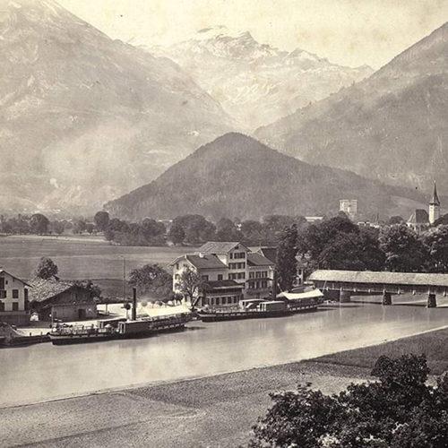 Interlaken Ost im Jahre 1862